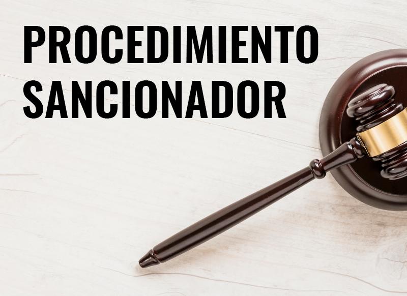 El procedimiento sancionador y su duración